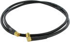 Antenna cable 0° to 90° - 1 m - SMA
