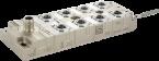 Tree 8TX IP67 Metal - Unmanaged Switch - 8xM12