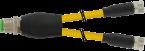 M12 Y-distributor / M8 female 0°