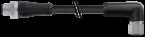 M12 Power male 0° / female 90° L-cod.