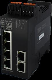 TREE PROFINET managed Switch  6x10/100BT IP20  plastic RJ45
