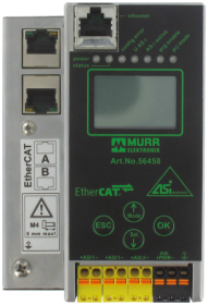 Gateway EtherCAT/AS-i, 2 Masters