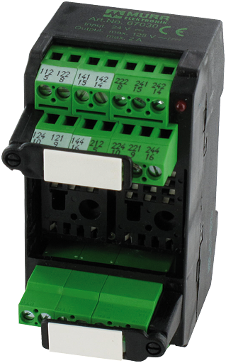 MKS-J 67035 24 VDC RELAY SOCKET MODULES
