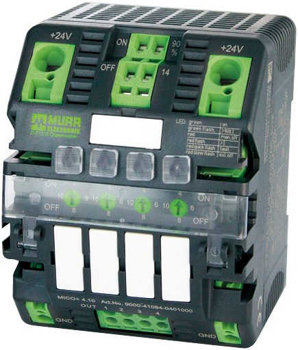 MICO+ 4.10 electronic circuit protection, 4 CHANNELS