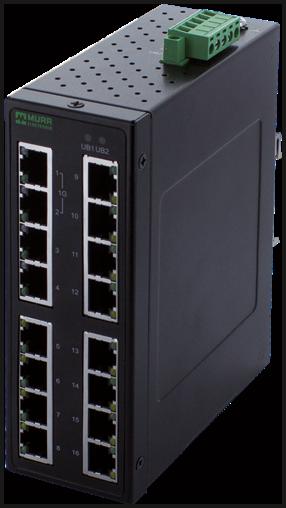 TREE 16 TX Metall 2GE 14 FE - Unmanaged Gigabit Switch - 16 Ports/
