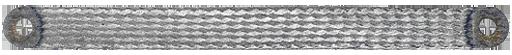 GROUNDING STRIP 16MM² 200MM FOR M8